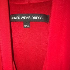 Jones Wear Dresses - Red Midi Dress